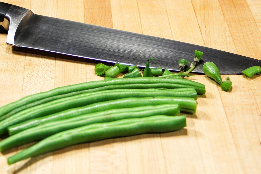 Trimmed Fresh Green Beans