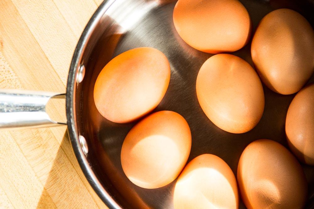 Eggs in Saucepan