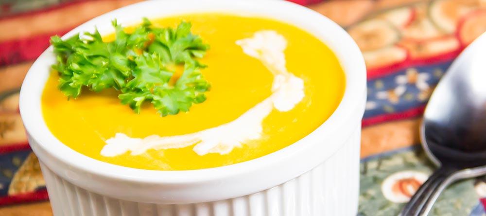 Pureed Butternut Squash Soup Recipe