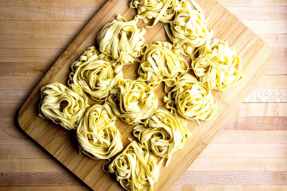 Fresh Fettuccini Pasta