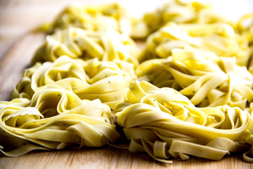 Nests of Fresh Pasta