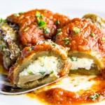 Eggplant Involtini with Homemade Sauce Recipe