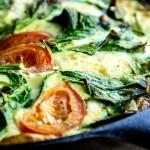 Perfect Spring Vegetable Frittata Recipe