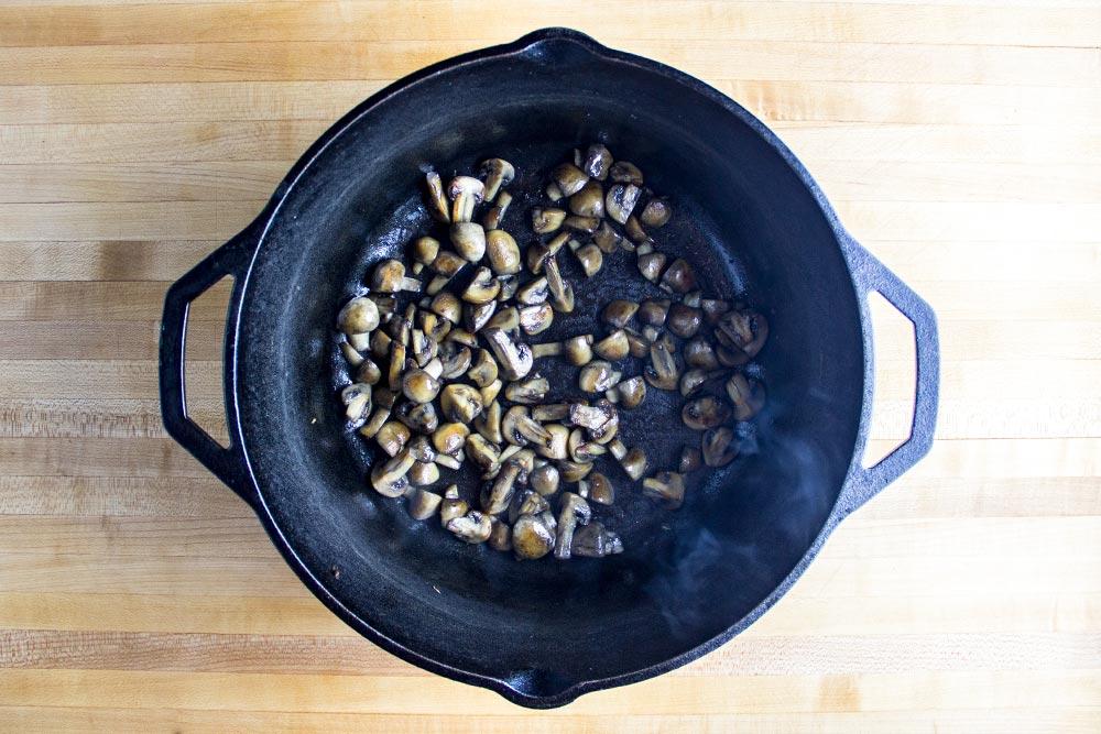 Browning Mushrooms