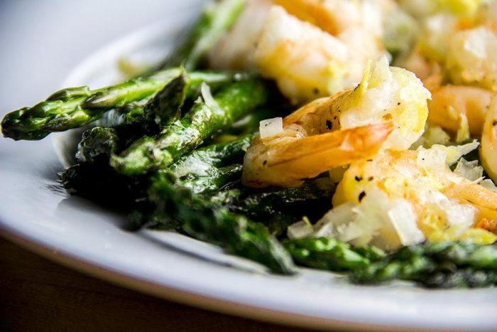 Asparagus & Shrimp with Lemon Vinaigrette Recipe