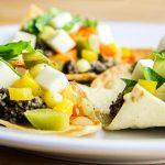 Bell Pepper, Mozzarella & Olive Spread Open Sandwich Recipe