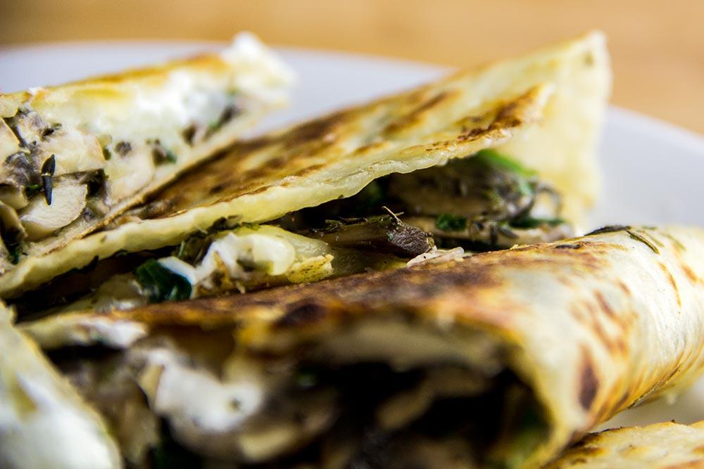 Mushroom Tortillas