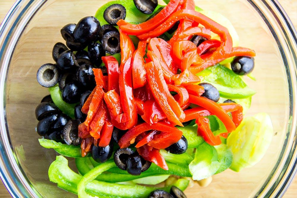 Vegetable Sandwich Filling