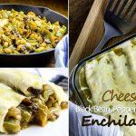 Vegetarian Black Bean, Pepper & Spice Enchilada Recipe