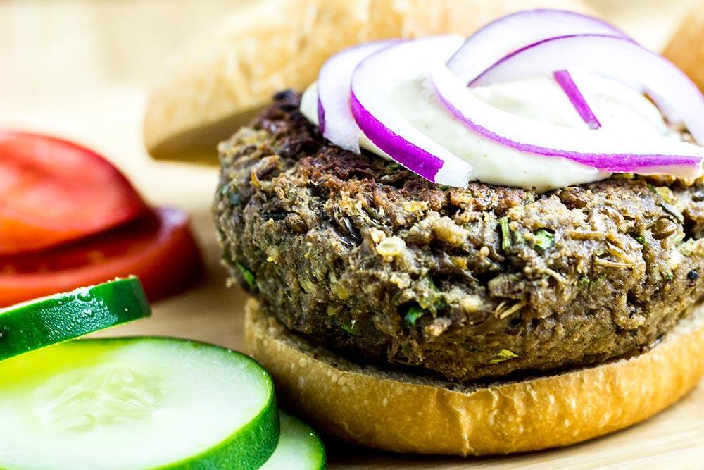 Armenian Lentil Burger