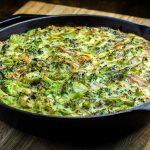 Broccoli, Pasta & Parmesan Cheese Frittata Recipe