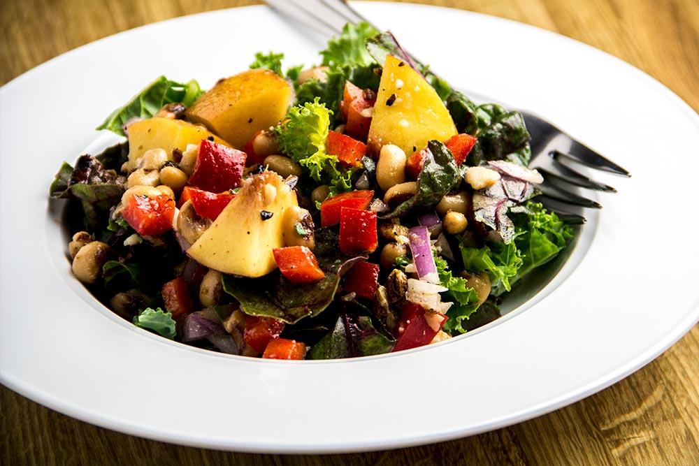 Kale, Chard & Pecan Salad