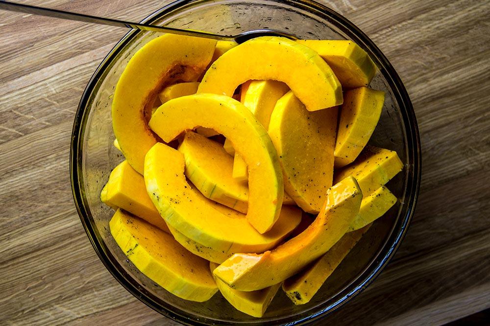 Sliced Butternut Squash