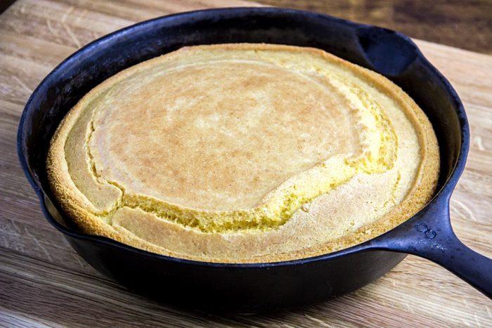 Southern-Style Skillet Cornbread Recipe — Dishmaps