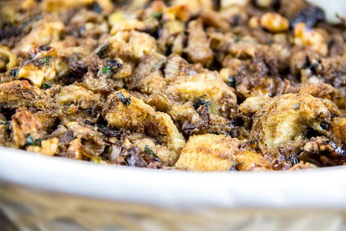 Holiday Apple & Walnut Stuffing Recipe