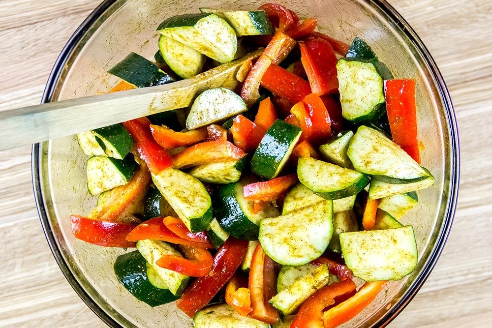 Curry Vegetable Ingredients