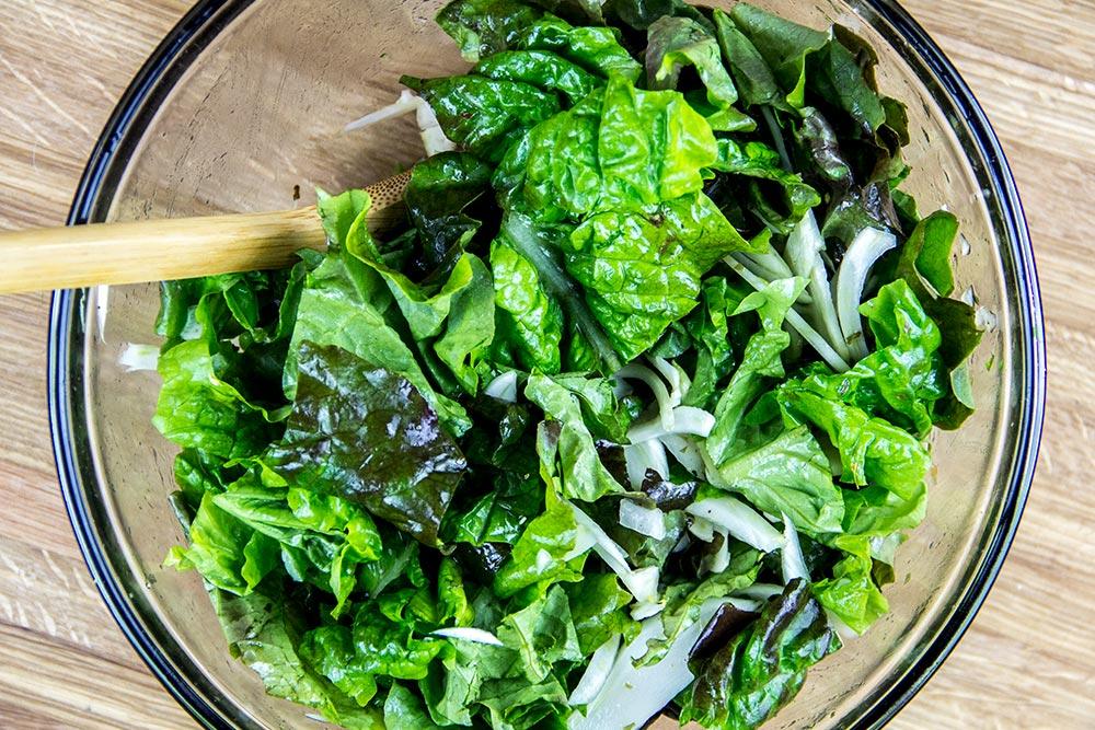 Fennel & Red Lettuce Salad