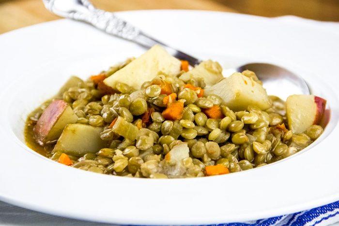 Sun Dried Tomato, Lentil & Potato Soup Recipe by Williams-Sonoma