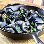 Onion, Garlic & Parsley Mussels Recipe