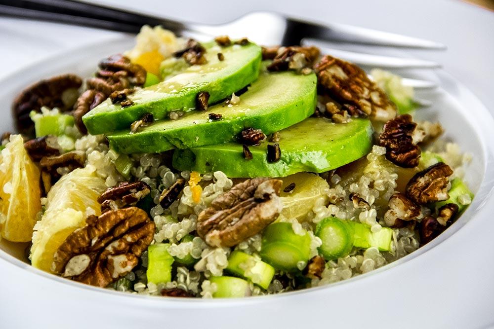 Fresh Asparagus Salad with Oranges & Ginger Miso Dressing Recipe