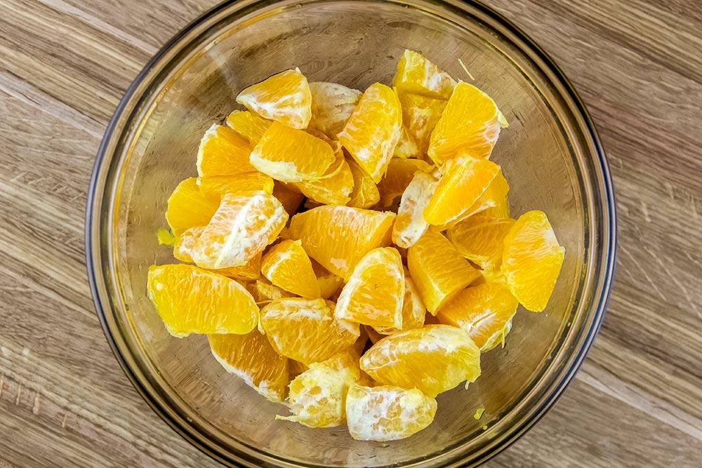 Pieces of Orange Segments