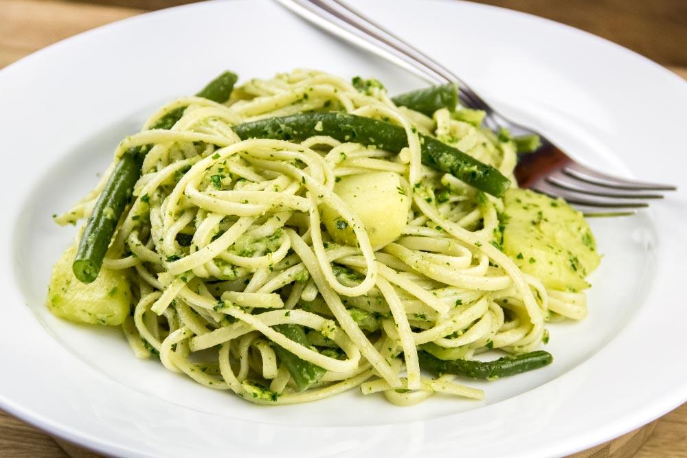 Trenette al Pesto