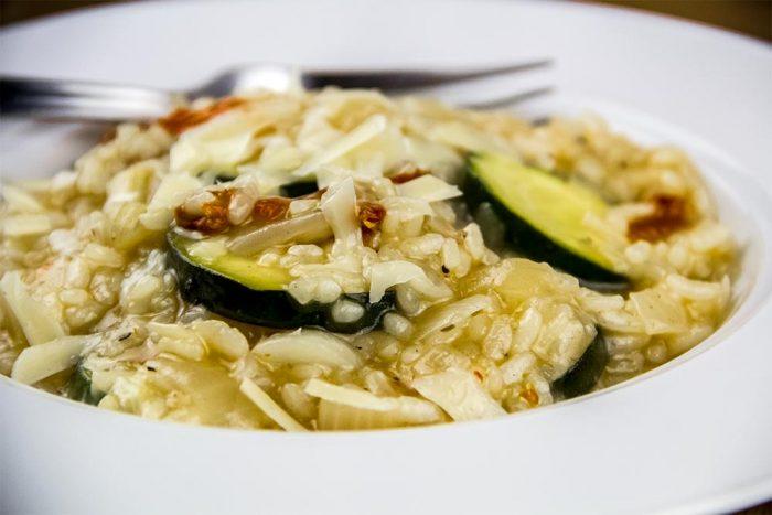 Zucchini & Sun Dried Tomato Risotto Recipe by Williams-Sonoma