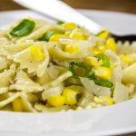 Bow Tie Pasta With Creamy Corn, Thyme & Parmesan Sauce Recipe