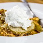 Cinnamon Apple & Coconut Crisp Dessert Recipe