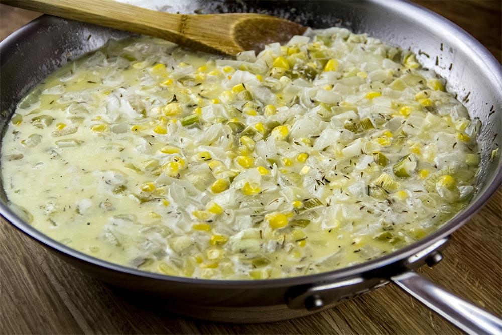 Cream Corn Pasta Sauce