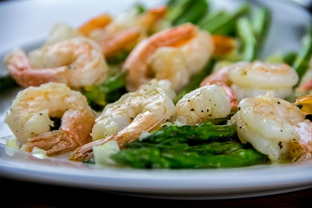 Shrimp and Asparagus Dinner Recipe