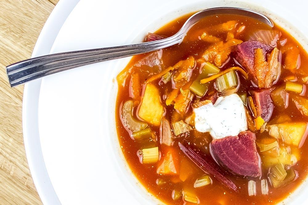 Healthy Borscht Recipe