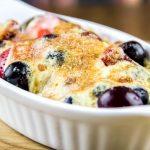 Blueberry, Strawberry & Black Cherry with Zabaglione Dessert Recipe