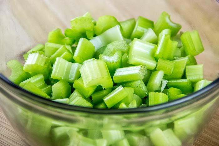 Cut Up Celery