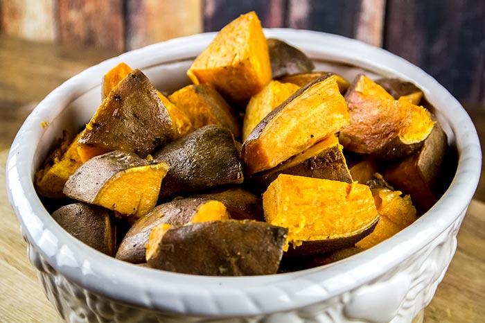 Potatoes in Casserole Dish