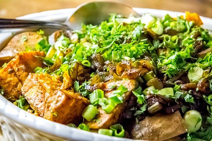 Roasted Balsamic Sweet Potatoes Recipe