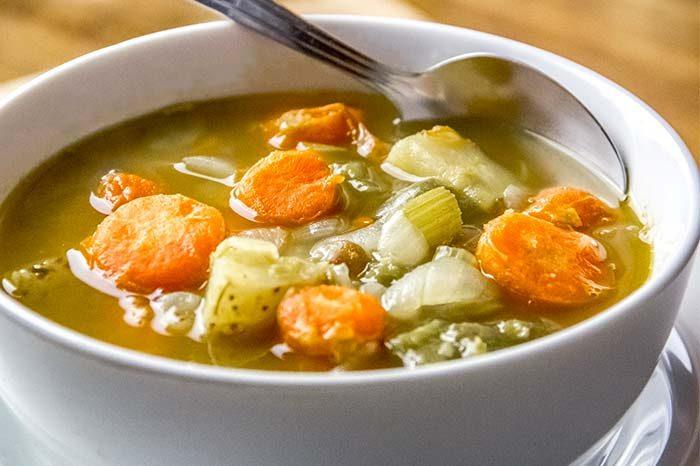Vegetarian Split-Pea Soup Recipe by Martha Stewart