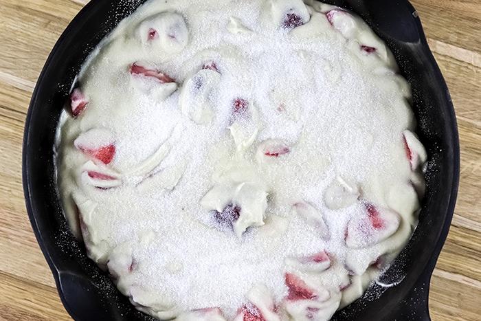 Raw Uncooked Cake