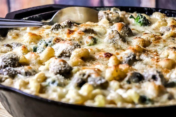 Broccoli Mac & Cheese Gratin Recipe
