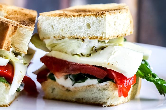 Half Veggie Sandwich