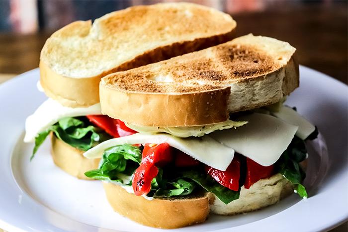 Two Veggie Sandwiches