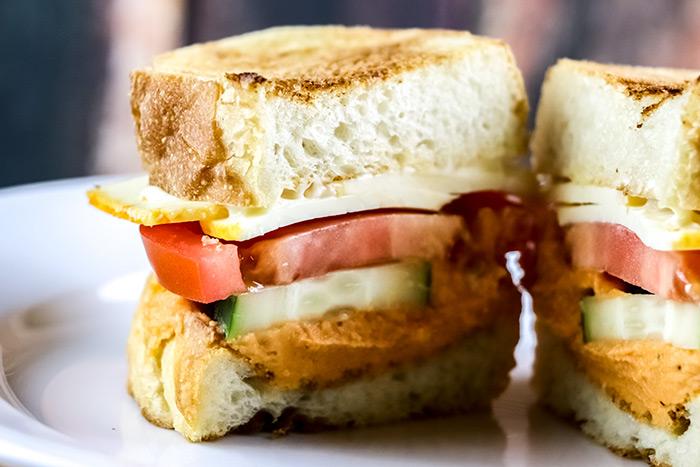 Half of a Sandwich