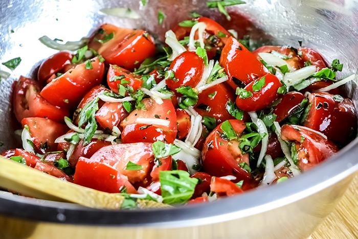 Tomatoes & Vinaigrette