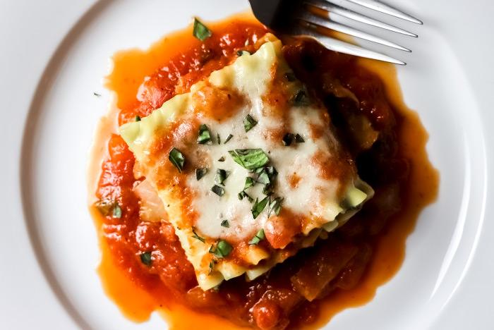 Tasty Lasagna Roll