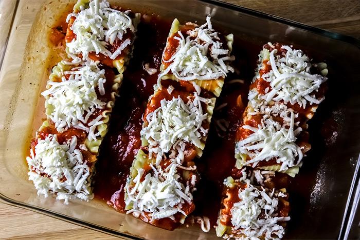 Oven Ready Lasagna Rolls
