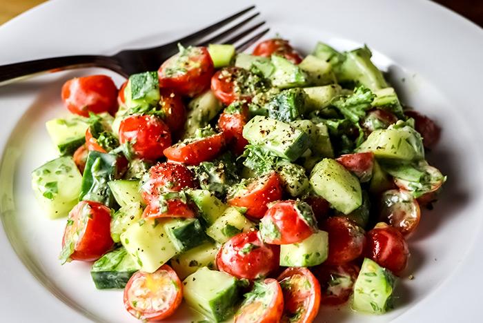 Tomato & Herb Salad