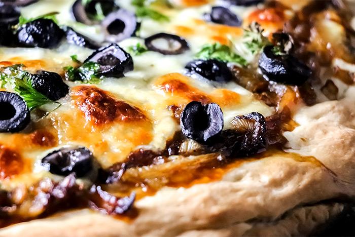Onion Pizza Up-Close