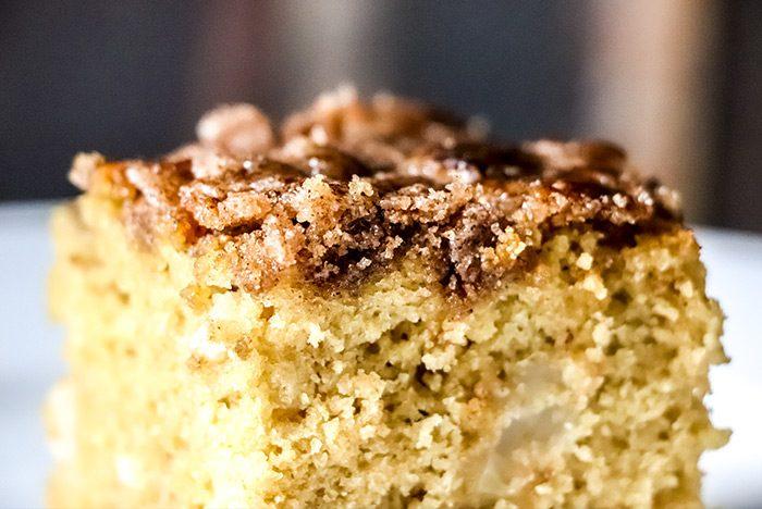 Apple Cake Sugar Topping