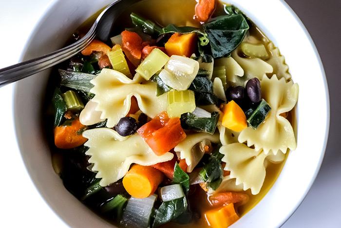Bean & Pasta Soup