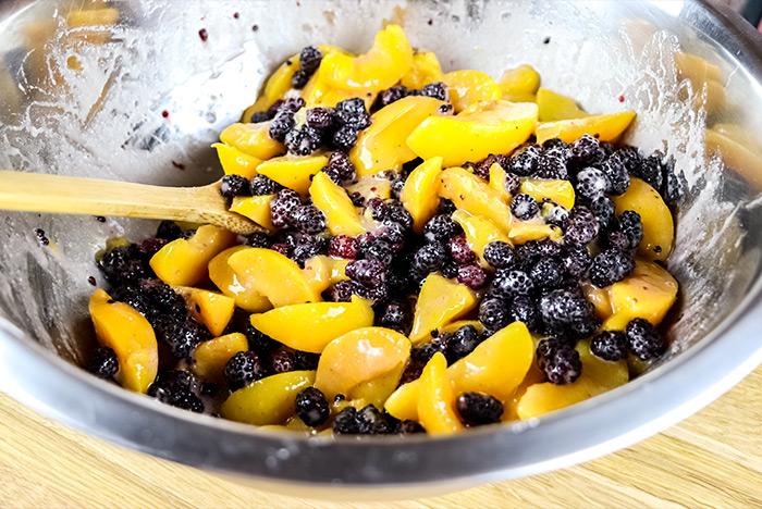 Peach & Blackberry Mix